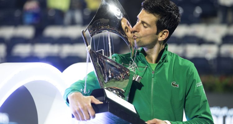 Djokovic Wins Fifth Dubai Title Tennis Tourtalk