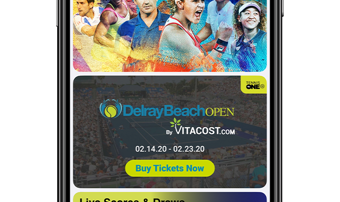 Delray Beach Open TennisOne