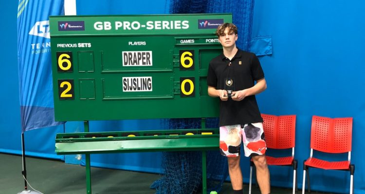Jack Draper ITF World Tennis Tour