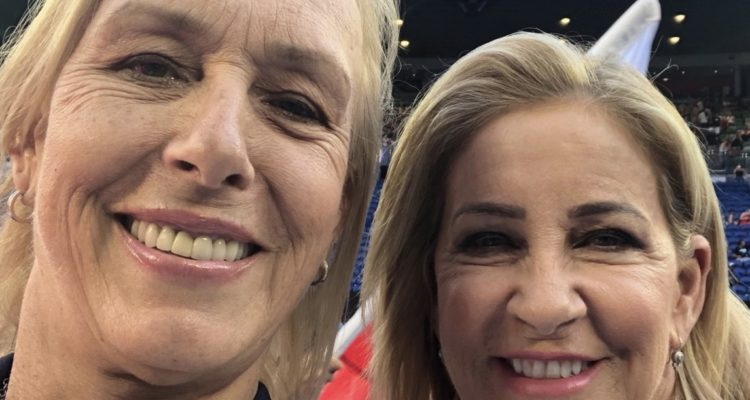 Martina Navratilova, Chris Evert