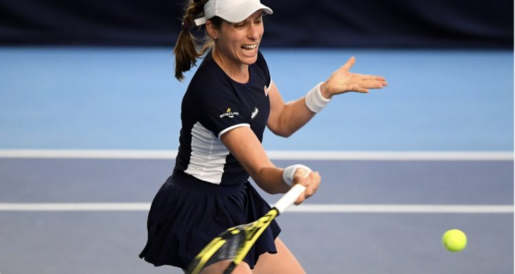 Konta, Evans Humbled In Battle Of The Brits Openers - Tennis TourTalk