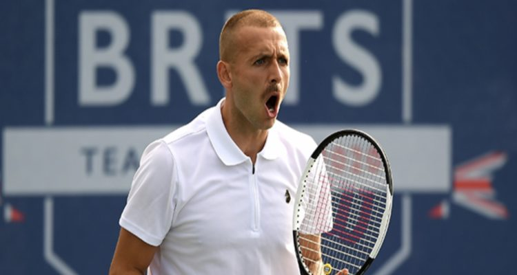 Dan Evans Battle of the Brits