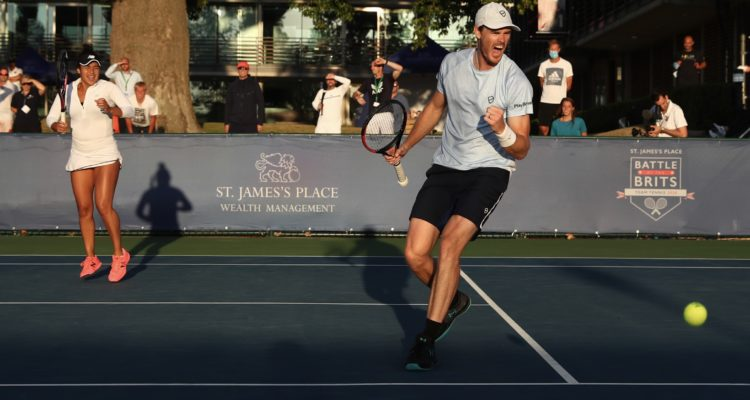 Heather Watson and Jamie Murray Battle of the Brits