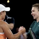 Ashleigh Barty and Simona Halep A Day at the Drive