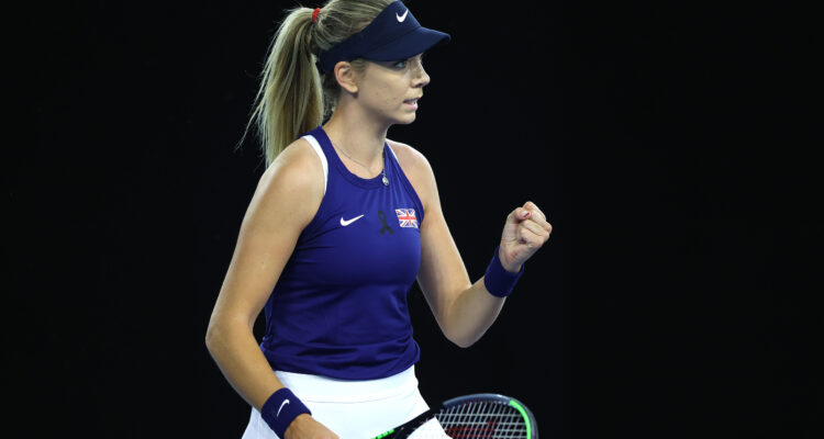 Boulter Billie Jean King Cup Great Britain
